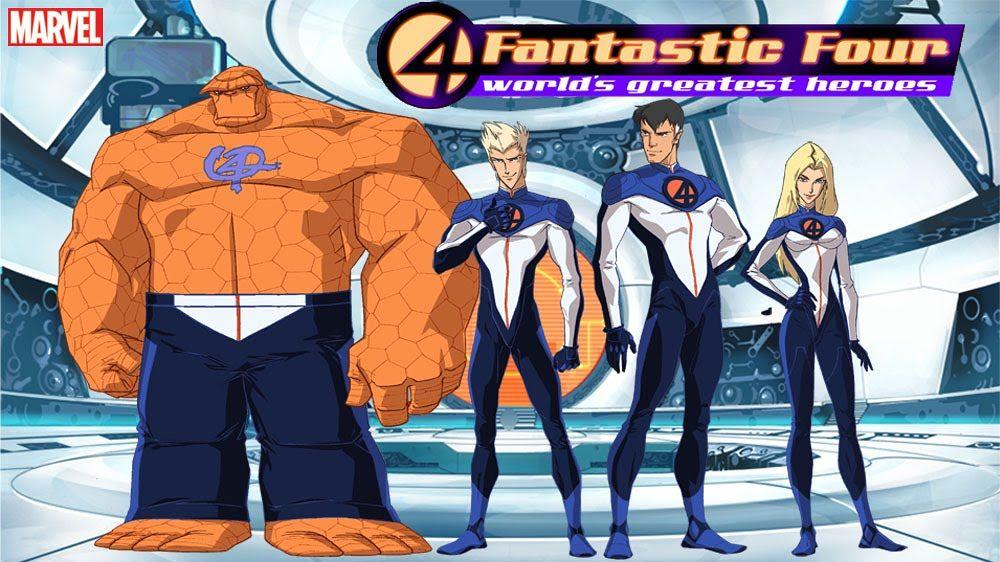 Fantastic Four Sinhala Cartoon